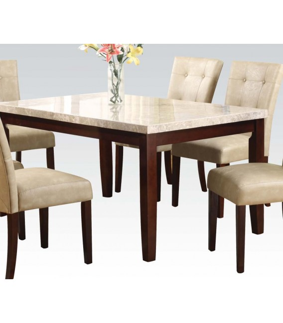 Pc Dining Table Marble Top Set Britney Collection Us – House n Dec