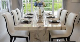 27 Modern Dining Table Setting Ideas | Luxury dining room, Modern .