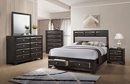 Amazon.com: Esofastore Classic Modern Master Bedroom Furniture .