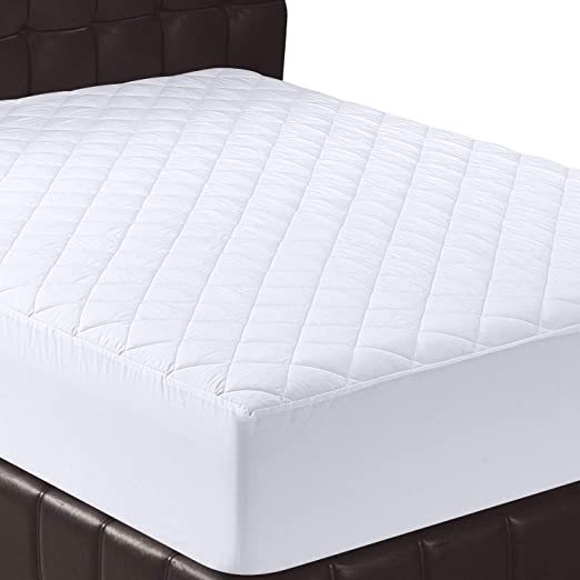 Amazon.com: Utopia Bedding Quilted Fitted Mattress Pad (Full .