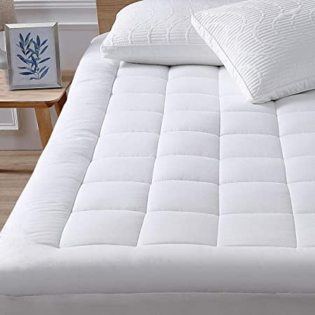 Amazon.com: oaskys Queen Mattress Pad Cover Cooling Mattress .