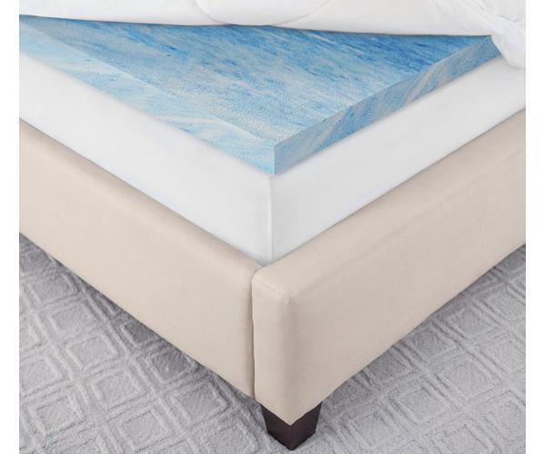"Serta Luxury Plush Pillowtop 3"" Gel Memory Foam Mattress Topp"