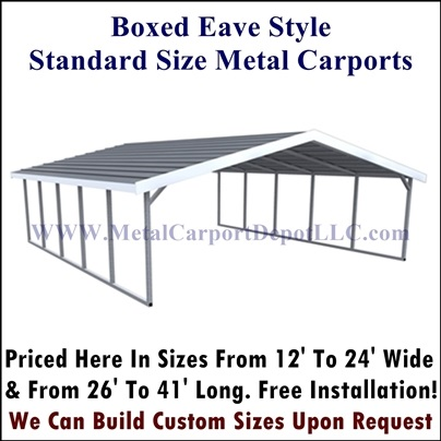 Metal Carports For Sale - Shop Carport Prices - Metal Carport Dep