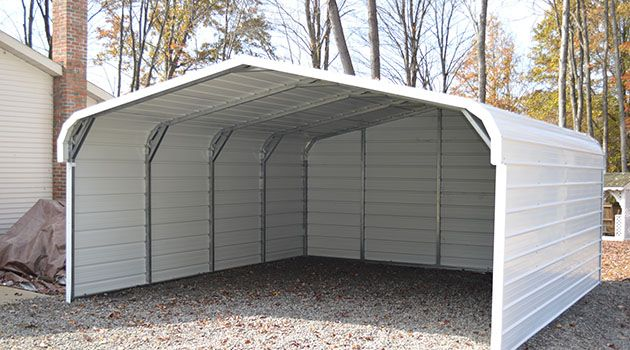 A guide to metal car ports in 2020 | Portable carport, Enclosed .