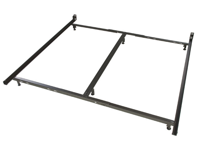 Low Profile King Size Metal Bed Fra