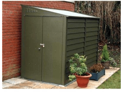 The Benefits Of Having A Metal Garden Shed In A Garden - Decorifus