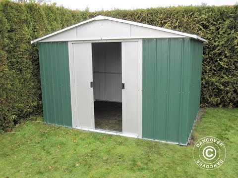 Garden shed assembly - YouTu
