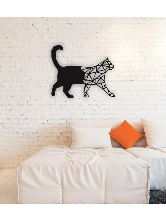 Cat Metal Wall Art Decor Portraits - Linewalla