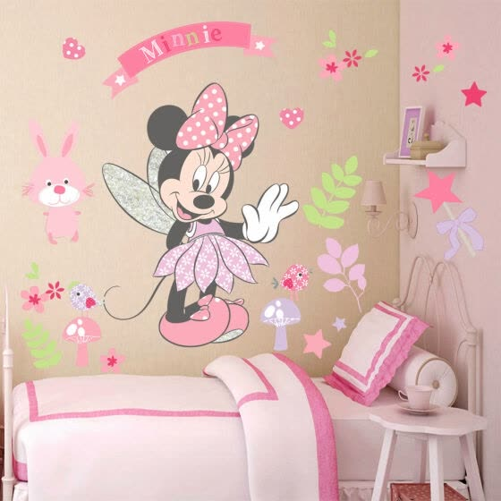 Shop Lovely Mickey Minnie Mouse Wall Sticker Mural Vinyl Decals .