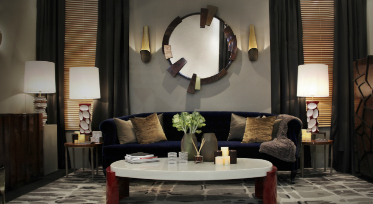 Stunning wall mirrors for your living ro