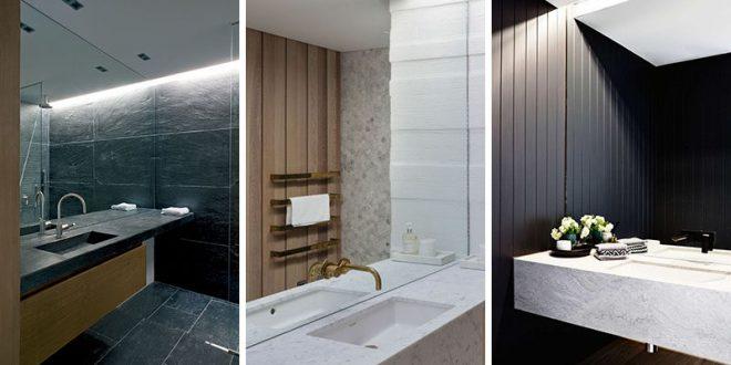 Bathroom Mirror Ideas - Fill The Whole Wa