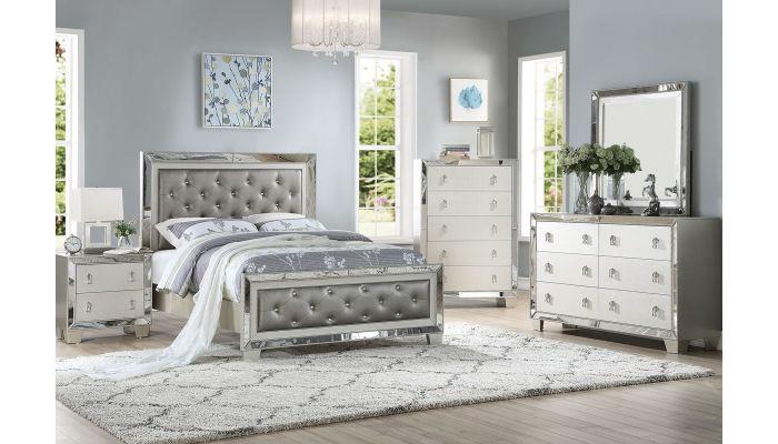 Sara Mirrored Bedroom Furnitu