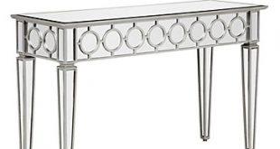 Mirrored Console Table | Contemporary & Classy | Z Galler