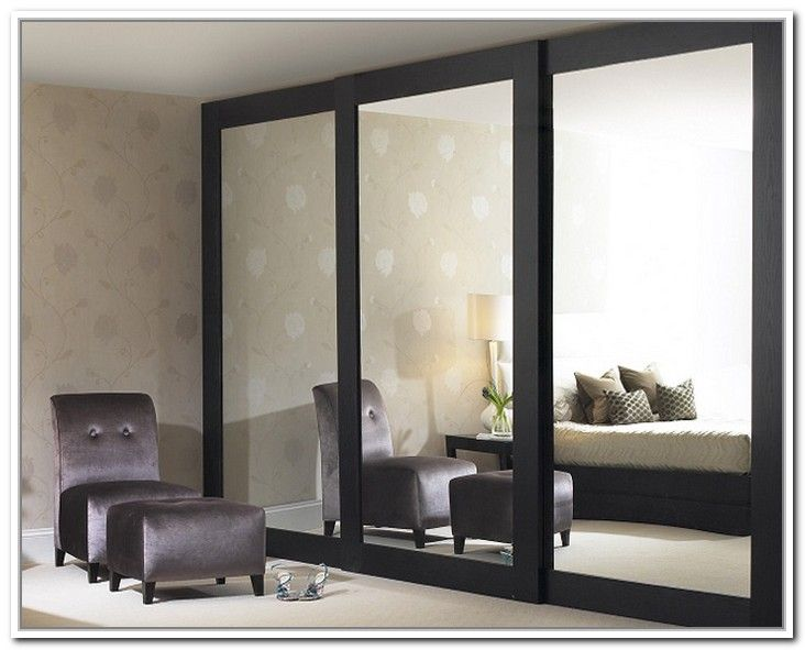 Sliding Mirror Closet Doors Makeover | Sliding glass closet doors .