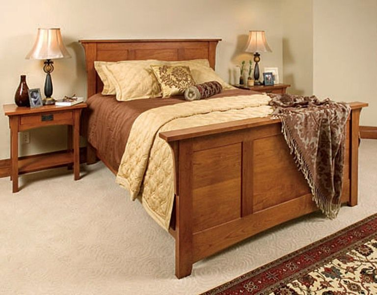 Mission style bedroom set. This is solid and elegant. | Mission .