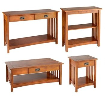 Mission-Style Wood Furniture Collection - Christmas Tree Shops and .