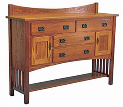 Amish Mission Furniture. The essence of Mission style furniture .