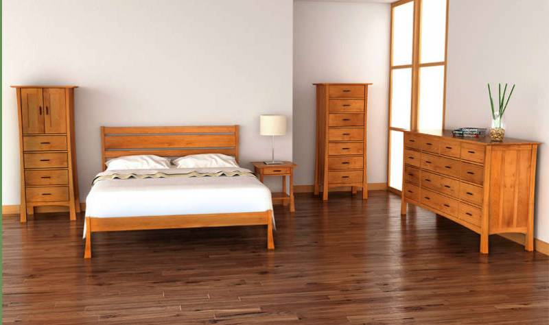 Exploring Mission Style Bedroom Furniture - Vermont Woods Studi