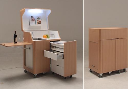 Flexible Mobile Kitchen Isla