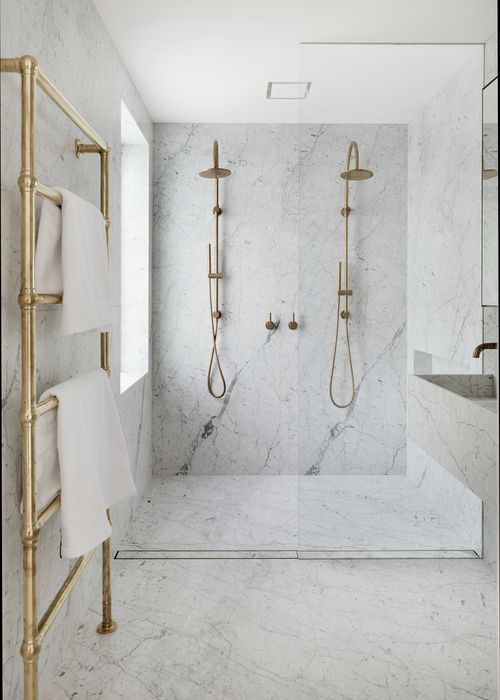 Modern Bathroom Designs, simple Modern Bathrooms, Marble Brass .