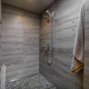 Tile Modern Bathroom Ideas | Hou