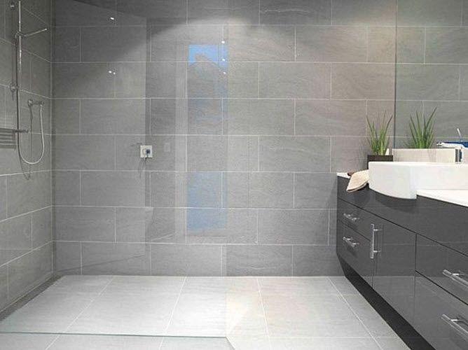 40 modern gray bathroom tiles ideas and pictures | Grey bathroom .