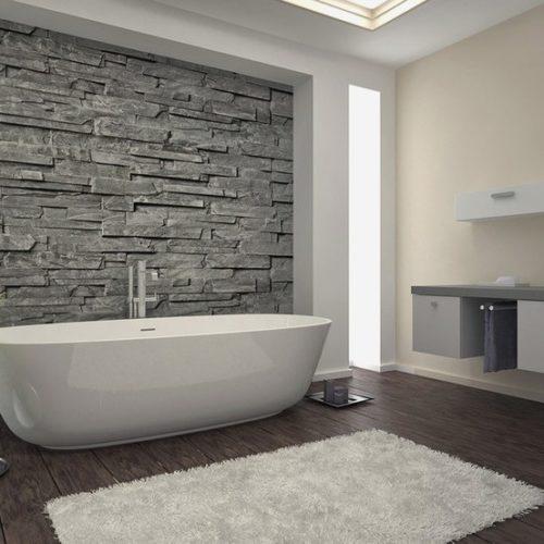 Porcelain Tiles Modern Bathroom Tile, Fibro Plast India | ID .