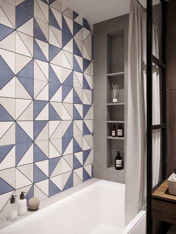 40 Modern Bathroom Tile Designs and Trends — RenoGuide .