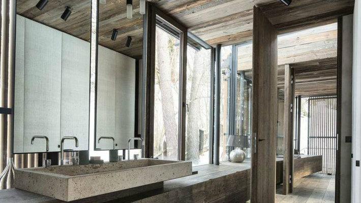 Rustic Modern Bathroom Design Ideas | Maison Valentina Bl