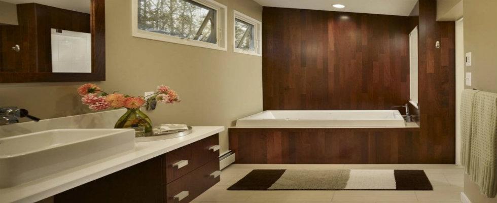 Mid-Century Modern Bathrooms Design Ide