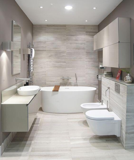 30 Elegant Examples of Modern Bathroom Design For 2018 .