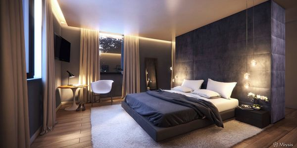 20 Cozy Modern Bedroom Ideas | Luxurious bedrooms, Modern bedroom .
