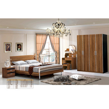 Modern Bedroom Furniture Sets Mdf Board Bed And Wardrobe - Buy .