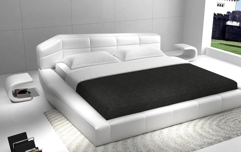 Whisper Ultra Modern Platform Bed | Contemporary Be