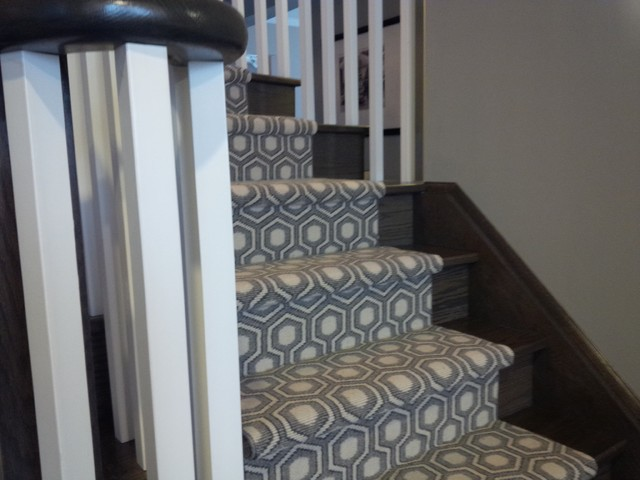 Modern Stair Runners David Hics Collection - American Traditional .
