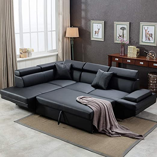 Amazon.com: Sofa Sectional Sofa for Living Room Futon Sofa Bed .