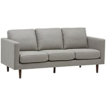 "Amazon.com: Rivet Revolve Modern Upholstered Sofa Couch, 80""W ."