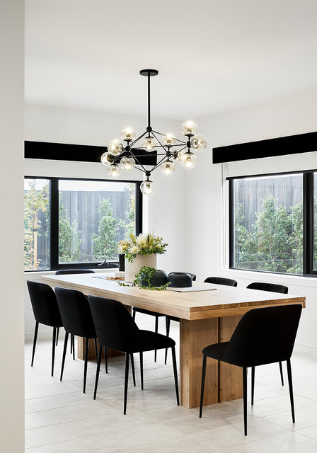 Display Home Furniture Fitout & Styling - Modern - Dining Room .