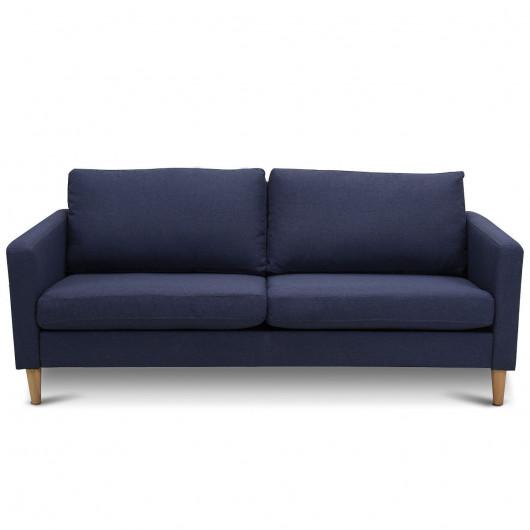 Upholstered Modern Fabric Love Seat Sofa - Sofas - Furnitu