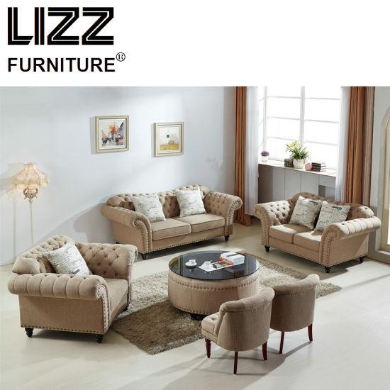 China New Model Furniture Living Room Sofa Set Modern Fabric Sofa .