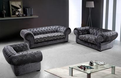 Savanna Modern Fabric Sofa Set -Buy ($3475) in a modern furniture .