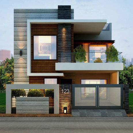 50 Best Modern Architecture Inspirations | House front design .