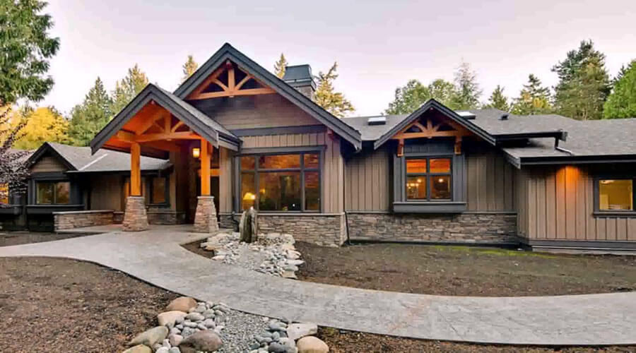 House Styles In America | Ranch home designs | Modern home desi
