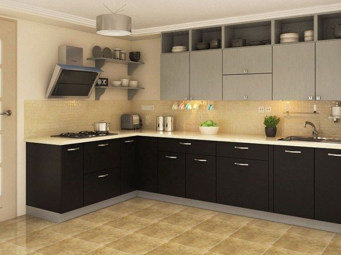 Indian Style Modular Kitchen Design Apartment Modular Kitchen .