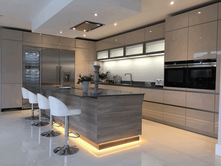 45 Stunning Modern Kitchen Design Ideas for 2020 » AERO.DREA