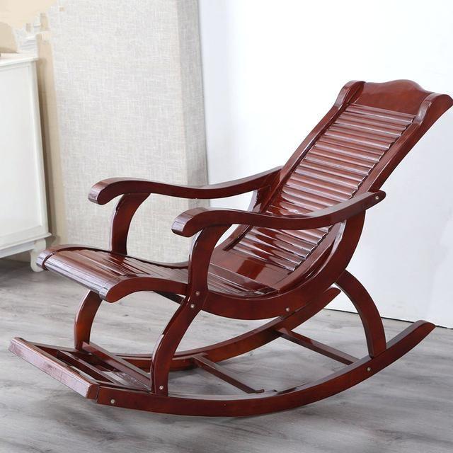 hardwood indoor modern adult rocking chair rocker living room .