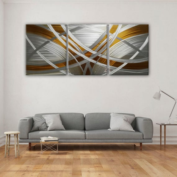 Abstract Metal Wall Art Modern Metal Wall Painting Modern | Et