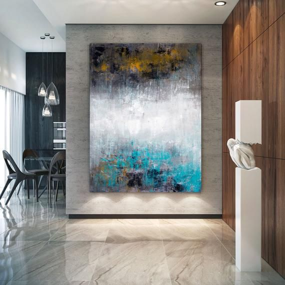 Large Abstract Painting, Original Canvas Art, Contemporary Wall .