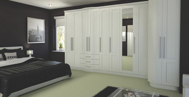 Contemporary White Modular Bedroom Furniture System - Contemporary .