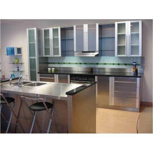 Stainless Steel Kitchen Cabinet - Stainless Steel Modular Kitchen .